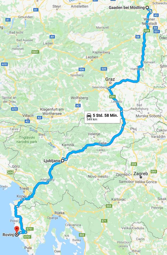 Jugoslawien Karte Früher.Rovinj Istrien 2018 Geralis